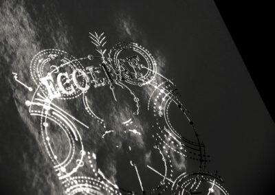 Metallised embellishment by Ecoleaf